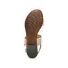 Sandali con strass bata, grigio, 569-2256 - 19
