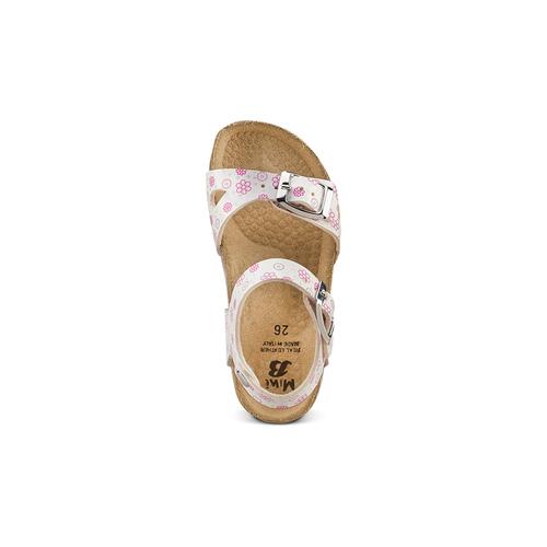 Sandali con stampa floreale mini-b, bianco, 261-1212 - 17
