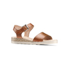 Sandali in pelle bata-touch-me, marrone, 664-3298 - 13