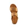 Sandali Platform bata, marrone, 664-3230 - 17