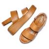 Sandali Platform bata, marrone, 664-3230 - 26