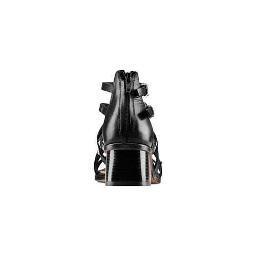 Sandali con borchie bata, nero, 664-6296 - 15