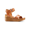 Sandali in pelle bata, marrone, 764-3433 - 13