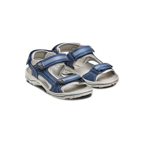 Sandali weinbrenner-junior, blu, 463-9102 - 16