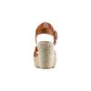 Sandali con zeppa bata, marrone, 764-3116 - 15