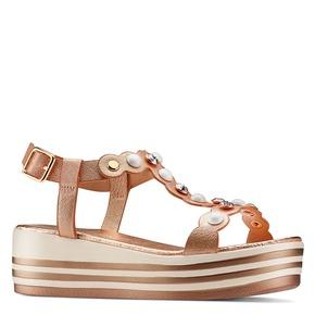 Sandali Platform da bambina mini-b, 361-5207 - 13