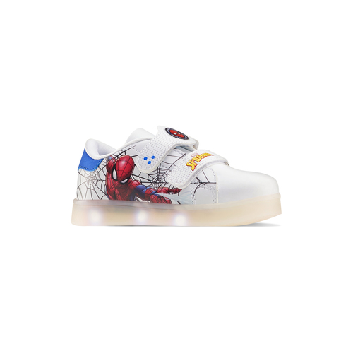 Sneakers con luci spiderman, bianco, 311-1158 - 13