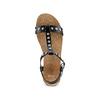 Sandali casual da donna bata, nero, 561-6546 - 17