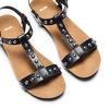 Sandali casual da donna bata, nero, 561-6546 - 26