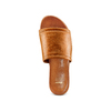 Ciabatte flat in pelle bata, marrone, 564-3146 - 17
