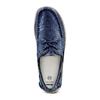 Scarpe da barca bata, blu, 859-9198 - 17