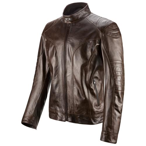 Giacca in pelle da uomo bata, marrone, 974-4178 - 16