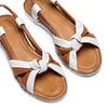 Sandali in vera pelle bata, marrone, 564-4525 - 26