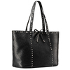 Shopper con borchie bata, nero, 961-6280 - 13