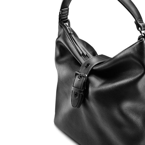 Handbag  bata, nero, 961-6103 - 15