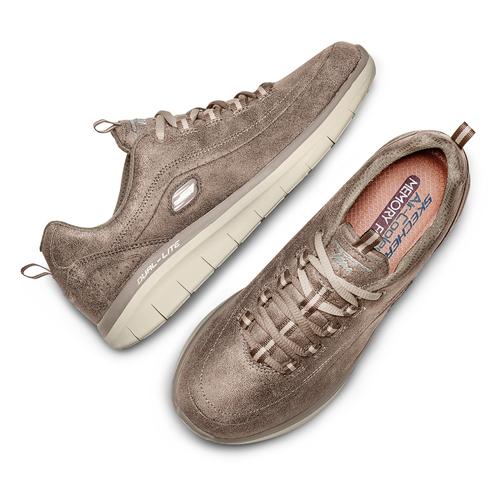 Sport shoe  skechers, neutro, beige, 501-8103 - 26