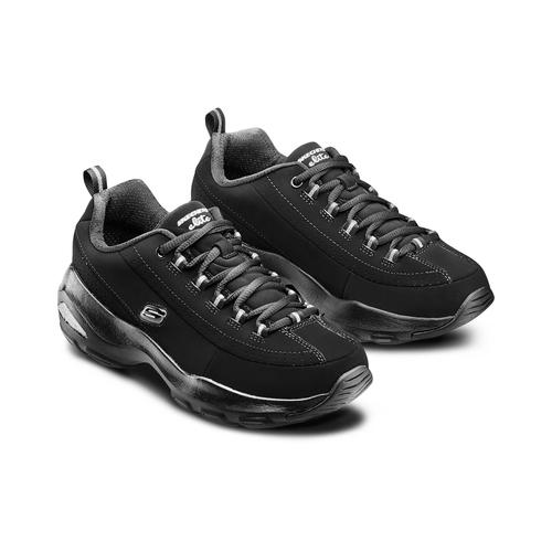 Sport shoe  skechers, nero, 501-6128 - 16