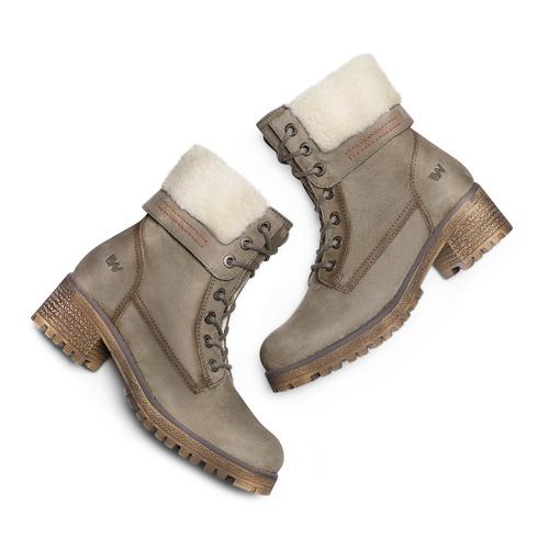 Boot  weinbrenner, grigio, 696-2207 - 26