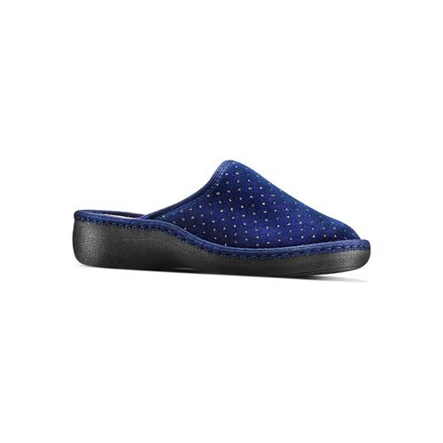 Slipper  bata, blu, 579-9376 - 13
