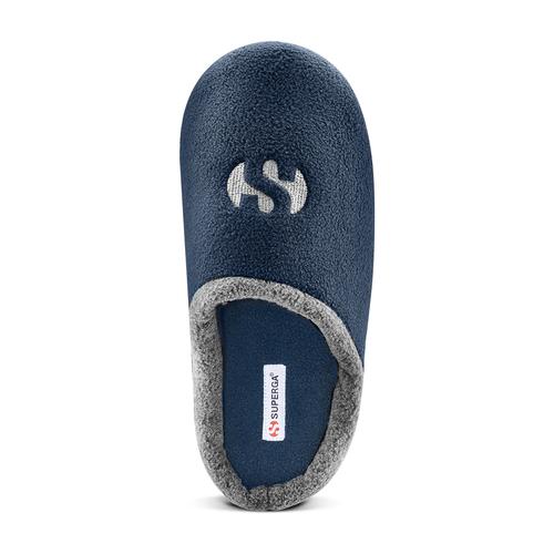 Slipper  superga, blu, 879-9312 - 17