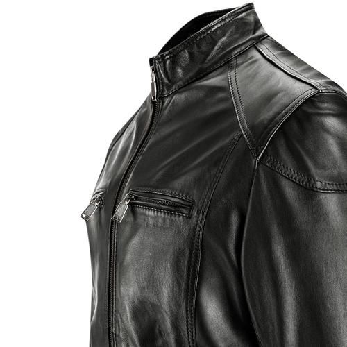 Giacca da uomo in pelle bata, nero, 974-6150 - 15