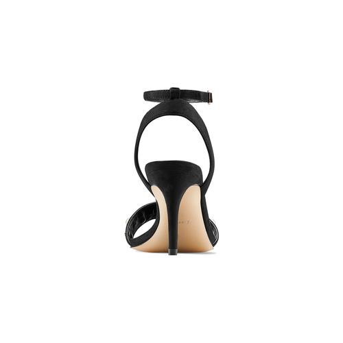 Sandali con perle insolia, nero, 769-6288 - 15