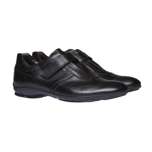 Sneakers da uomo in pelle bata, nero, 814-6989 - 26